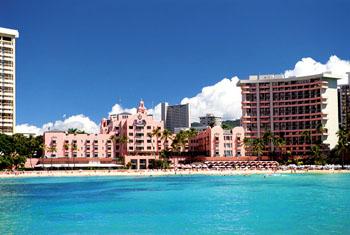 하와이 호텔 로얄 하와이안