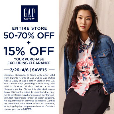 Gap Factory_EasterDeveloperCoupon