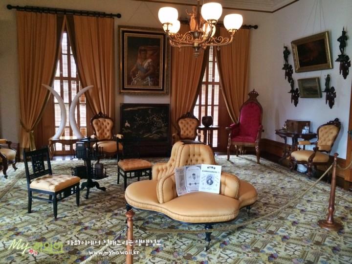 이올라니 궁전 하와이 명소 Iolani Palace (4)