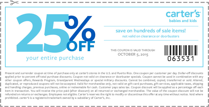 carters coupon mallandcenter 092215 friends and family