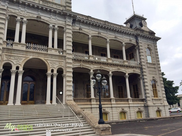 이올라니 궁전 하와이 명소 Iolani Palace (9)