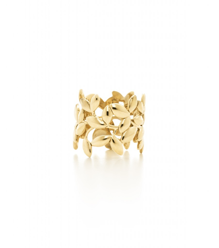 Picasso Olive Leaf Ring