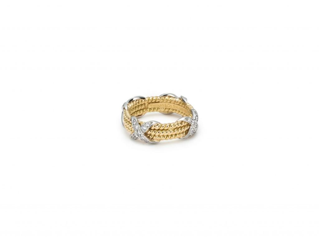 Schlumberger 3-row ring