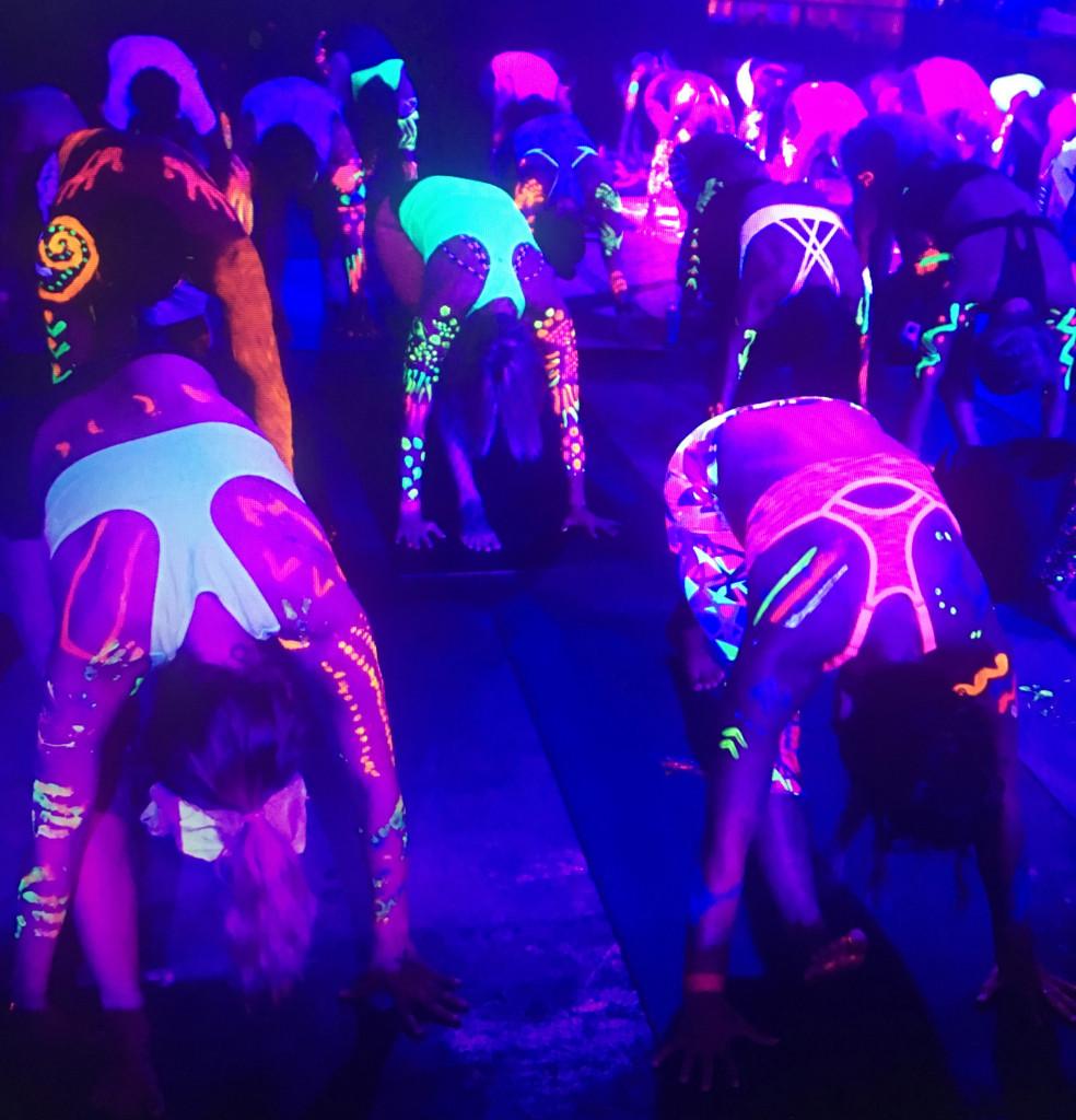 Glow Flow Yoga - credit Power Yoga Hawaii