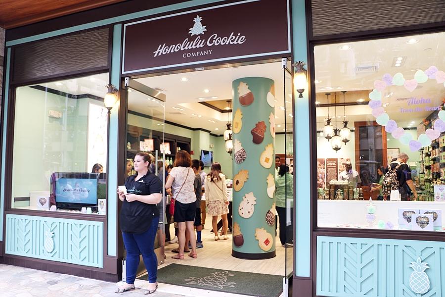 호놀룰루 쿠키 컴퍼니 와이키키 비치 워크 지점 새단장 오픈!