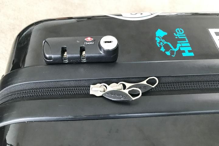 캐리어 TSA 자물쇠