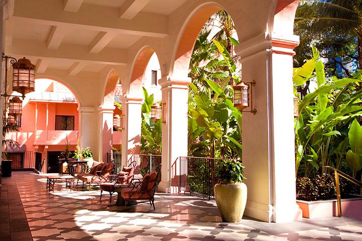 로얄하와이안 호텔